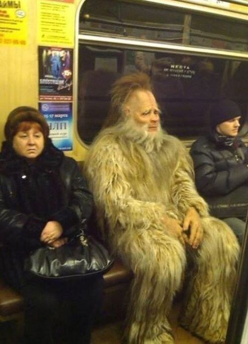 Meanwhile on the subway