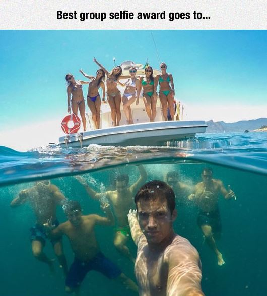 The Best Group Selfie Ever