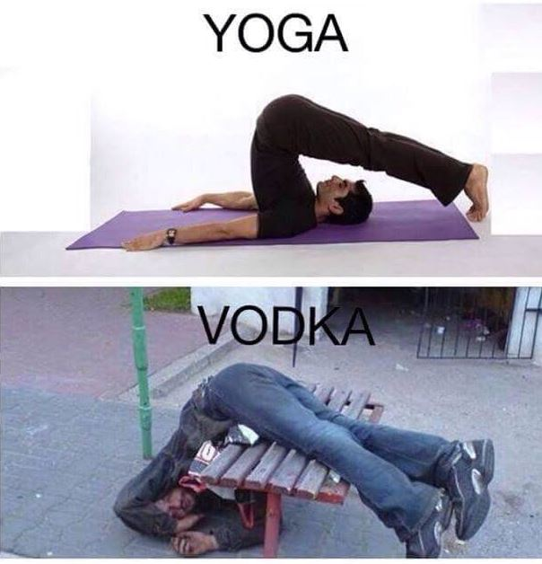 Yoga v Vodka